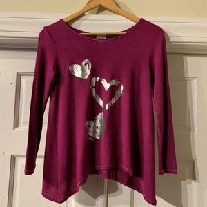 Girls Justice Athletic Top